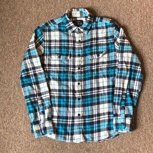 American Eagle plaid flannel shirt